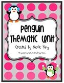 Penguin Literacy Activity Packet