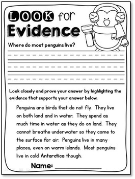 Penguin Literacy Unit
