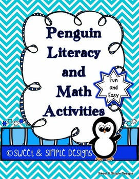 Penguin Literacy and Math Activities