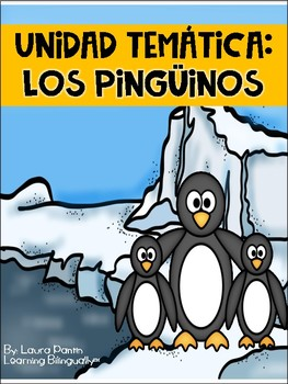 Penguin Literacy and Math Unit in Spanish