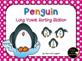 Penguin Long Vowel Sorting Station