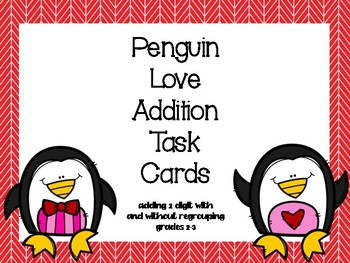 Penguin Love Addition 2 Digits
