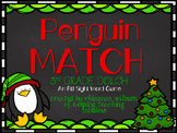 Penguin Match (3rd Grade Dolch)