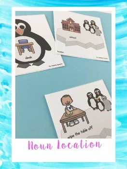Penguin Match Ups For Speech Therapy