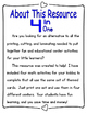 Penguins:  Math Tub and Center Activities