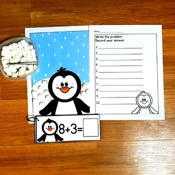 Penguin Math Activities