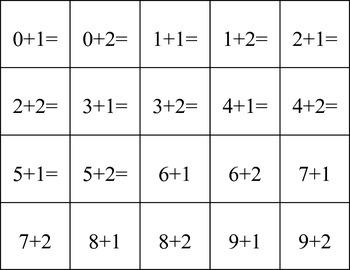 Penguin Math Board Game For Kindergarten 1 & 2