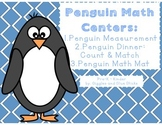 Penguin Math Centers (Easy Prep)
