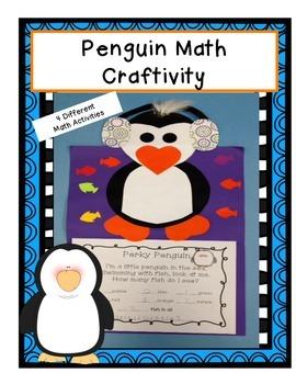 Penguin Math Craftivity-CCA