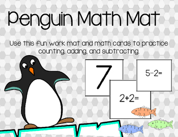 Penguin Math Mat (Counting, Addition, and Subtraction)