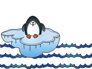 Penguin Math Mat {FREEBIE!!}