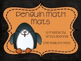 Penguin Math Mat {FREEBIE!!}