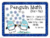 Penguin Math - PreK, Kindergarten, First