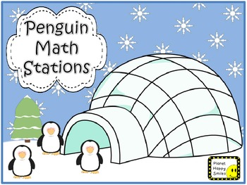 Math Stations ~ Penguins