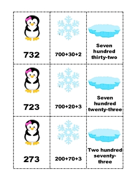 Penguin Math Stations