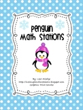 Penguin Math Stations