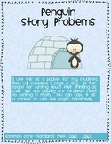 Penguin Math Story Problems