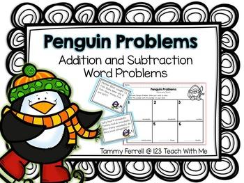 Penguin Math Story Problems
