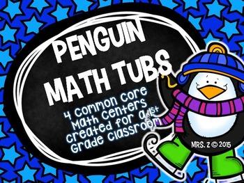 Penguin Common Core  Math Tubs & Centers