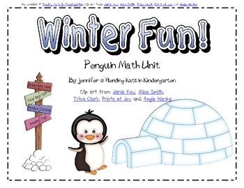 Penguins Math Unit
