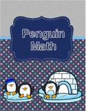 Penguin Math Worksheets