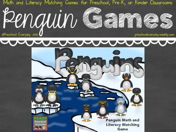 Penguin Math and Literacy Activities