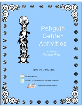 Penguin Math and Literacy Centers