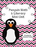 Penguin Math and Literacy Mini-Unit