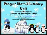 Penguin Math and Literacy Unit - Fact Families & Informati
