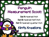 Penguin Measurement Scoot: 3 sets (inch, 1/2 inch, 1/4 inch)