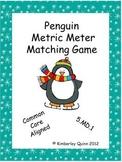 Penguin Metric Meter Matching Game (5.MD.1)