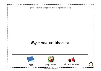 Penguin MiniBook:  My Penguin Likes...
