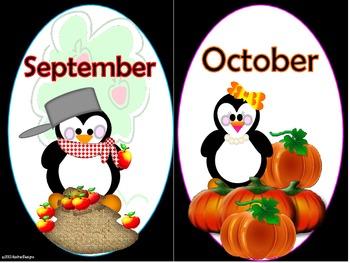 Penguin Months (large)
