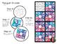 Penguin Mosaic - Radial Symmetry Mosaic - Winter Art Activity
