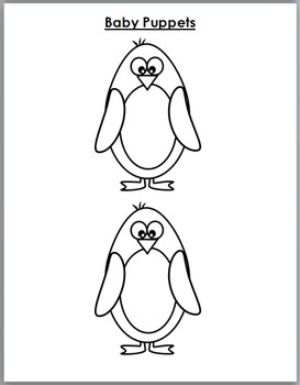 Penguins Science with Movement, Literacy & Math - Penguin Unit - Winter Activity