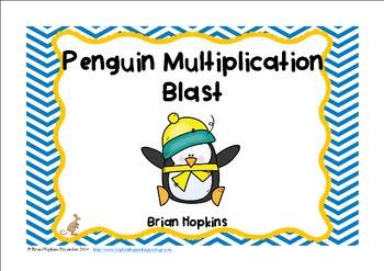 Penguin Multiplication Blast