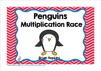 Penguin Multiplication Race