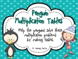 Penguin Multiplication Table