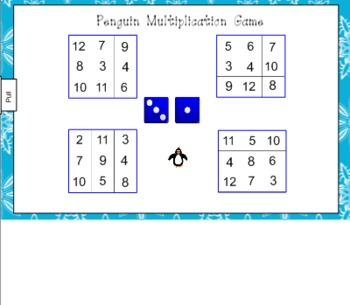 Penguin Multiplication for the Smart Board
