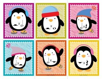 Penguin Music Math Flash Cards