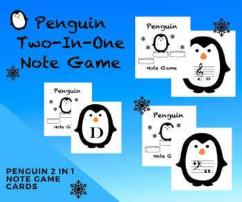 Penguin Music Note Game