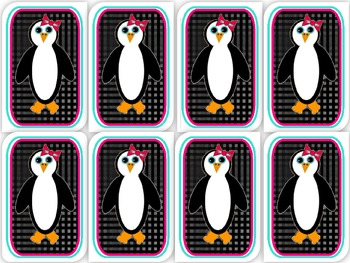 Penguin Name tags and Name plates