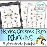 Penguin Naming Ordered Pairs Worksheet