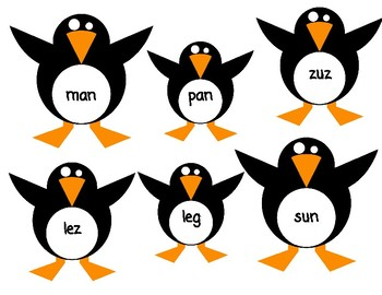 Penguin Nonsense Words