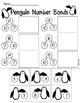 Penguin Math- Cut & Paste Number Bonds- Winter Activity