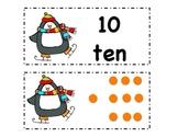 Penguin Number Cards
