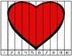 Valentine's Number Fluency Strip Puzzle | 1-10