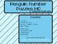 Penguin Number Fluency Strip Puzzle | 1-10 | FREEBIE