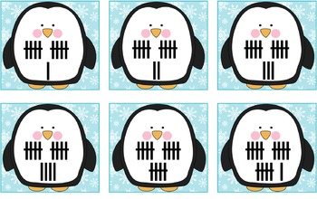 Penguin Number Match 1 to 20