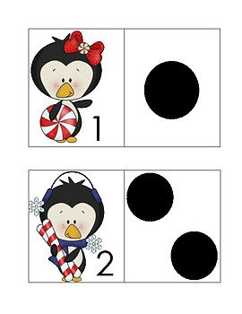 Penguin Number Match Up
